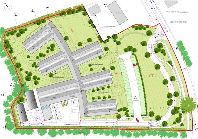 Nursing home architect mayo design master planning for Nursing home garden design